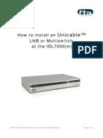Unicable Installation English(V150407)
