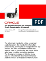 Maximizing Oracle HCM Using Compensation Workbench_CWBWebinar