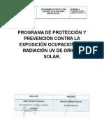 Programa de Exposicion a Radiacion Uv
