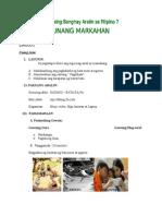 Masusing Banghay Aralin Sa Filipino 7