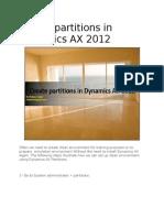 Database Partioning