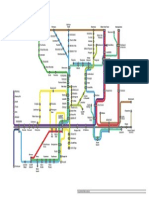 South Wales Metro Map