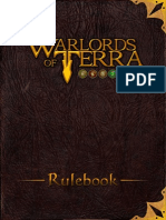 Warlords of Terra Manual