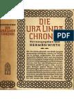 Herman Wirth - Die Ura Linda Chronik