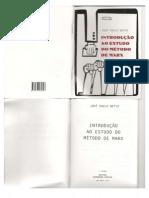 Introdução Ao Estudo Do Método de Marx - (NETTO, José Paulo)