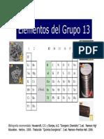 4 Elementos Del Grupo 13