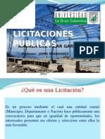 Licitaciones Públicas en Colombia