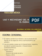 USO Y MECANISMO DEL MANITOL EN EL EDEMA.ppt