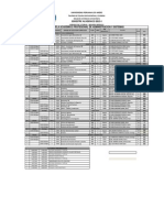 Horario Oficial - Modulo II - 2015-I