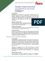 39.01_planta de Tratamiento de Agua Potable - Filtro Lento