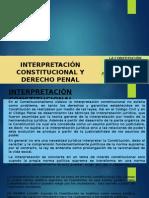 Interpretación Constitucional y Derecho Penal- Dr. Maximo