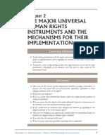 UN Instruments & Mechanisms