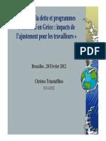 0. ETUI GRECE Crise Austerite Impacts