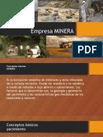 Empresa MINERA Expocicion
