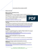 Boletín de Noticias KLR 30NOV2015