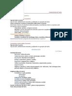 Estructura Examen Lengua - Selectividad 2010