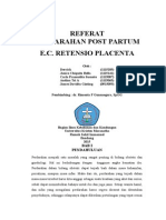 Referat Retentio Placenta
