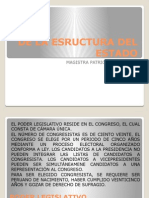 De La Estructura Del Estado