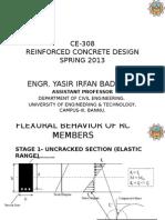 Flexural Behavior of RC Members