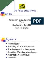 Effective Presentations Skills