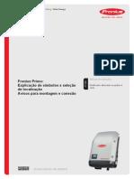 Manual Fronius Primo