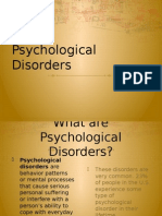 psychological disorders  3