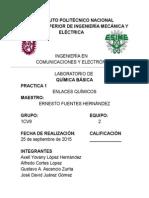 Quimica Practica 1 ICE Esime