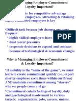 Employee Commitment