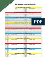 Senarai Acara Untuk Penyelaras Dan Juruhebah