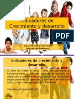 Indicadores de Crecimiento y Desarrollo 2013