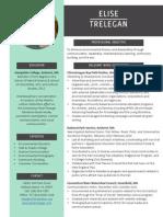 elise trelegan resume
