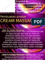 Cream Massage Fix
