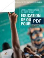 Rapport Complet Analyse Situation Education en RDC 2015.