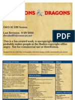 D&D 5e DM Screen Color