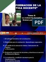 Transformacion de La Practica Docente (Tema 4)