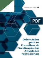 Cartilha Tcu Conselhos de Fiscalizacao Profissional