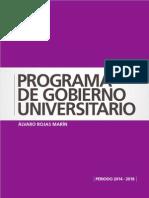 Plan de Gobierno Universitario