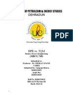 BPR vs TQM
