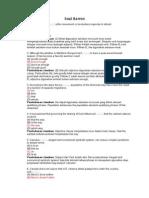 Soal TOEFL Dan Pembahasannya