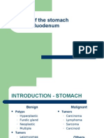 Tumors of the Stomach and Duodenum