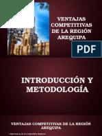 Ventajas Competitivas de la Región Arequipa