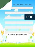 Control de Conducta