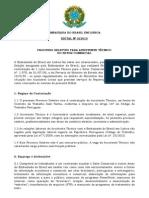 Edital Processo Seletivo Setor Comercial Embaixada Do Brasil