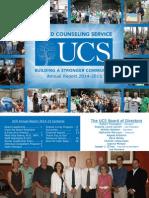 UCS Annual Report 2014-15