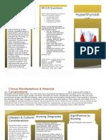 hyperthyroidism brochure