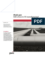 Shale Gas Boosts Us Manufacturing