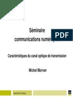 Seminare fibre Optiaues - M. Morvan