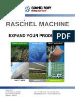 Siang May Raschel Machine