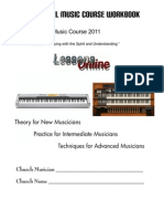Gospel Music Workbook