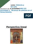 MIII-U2- Actividad 2. Técnicas de Pintura en El Renacimiento